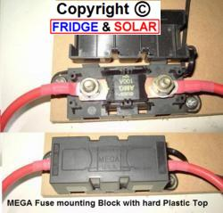 Mega fuse and holder