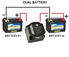 Dual Battery System dual battery systems alternator charging, how it should be done dual car battery wiring diagram at aneh.co